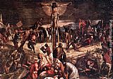 Jacopo Robusti Tintoretto - Crucifixion [detail 1]